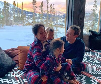 Zuckerberg'in çocukları da babalarının yolunda
