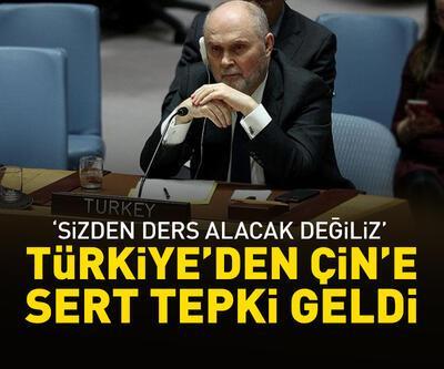 """Türkiye'den Çin'e tepki: """"Sizden ders alacak değiliz"""""""