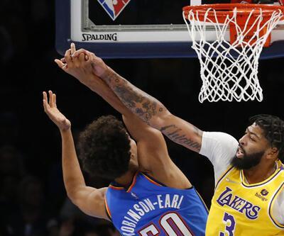 Thunder, 26 sayı geriden gelip Lakers'ı yendi