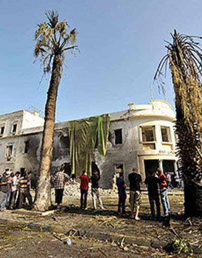 Libya'da Dışişleri Bakanlığı binasına saldırı
