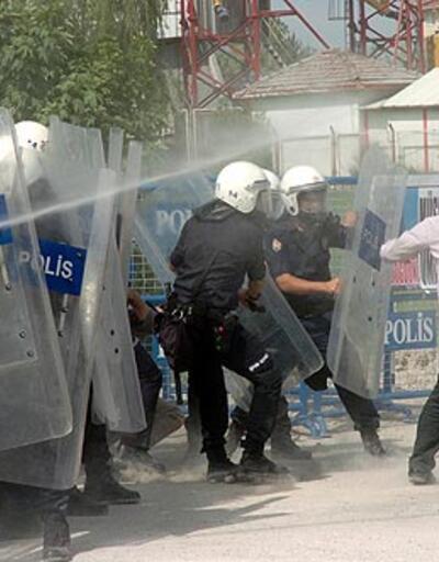 İBDA-C eylemine polis müdahalesi