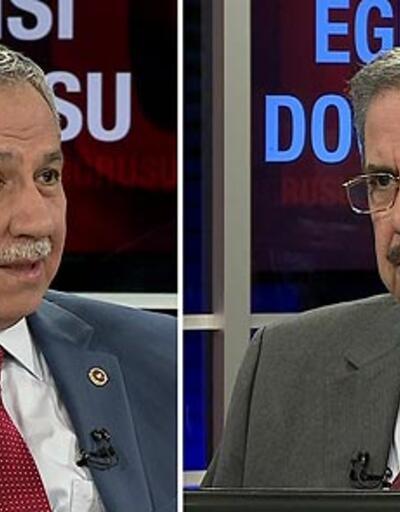"""Arınç: """"Öcalan'ı sevdiğimiz anlamına gelmez"""""""