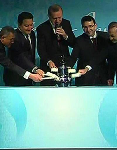 Borsa İstanbul'un ilk gongu Erdoğan'dan