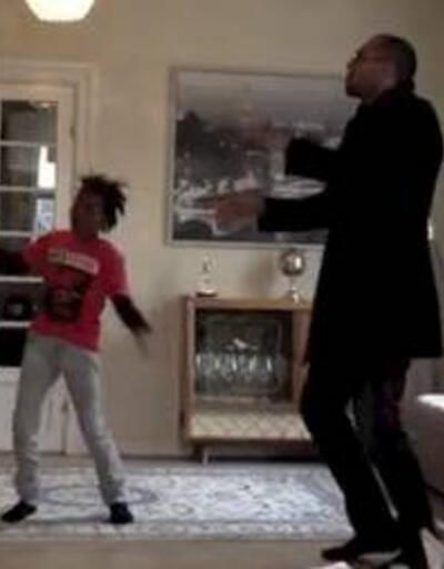 John Carew ve oğlunun çılgın dansı!