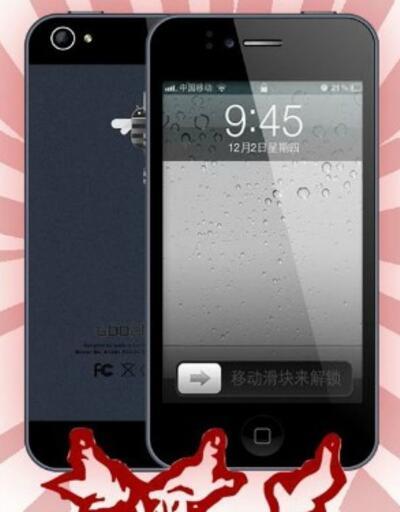 Çinliler Apple'dan önce davrandı, iPhone 5s piyasada!