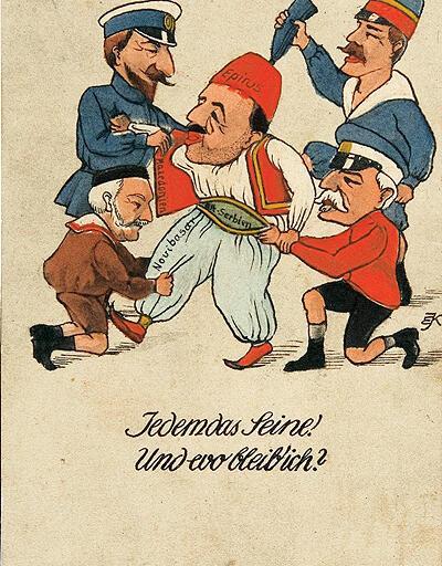 100. yılı kartpostallarla sergileniyor