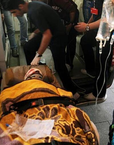 Elinde cisim patlayan çocuk yaralandı