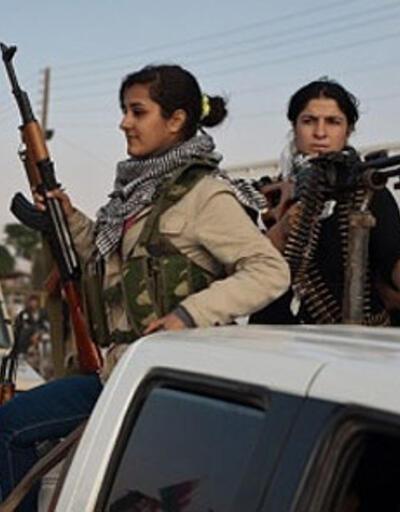Kürt kadınlardan ilk kadın müfrezesi