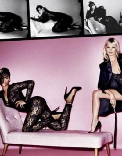 Rihanna ve Kate Moss'tan bomba etkisi