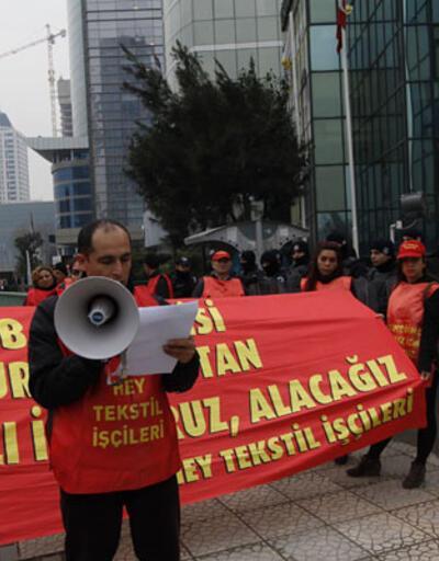 Hey Tekstil işçileri 377 gündür hak arayışında