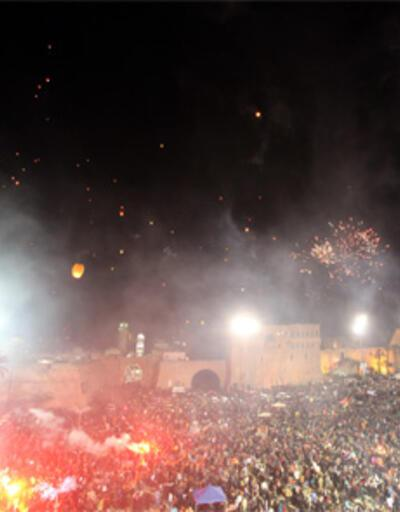 Libya'da devrim coşkusu