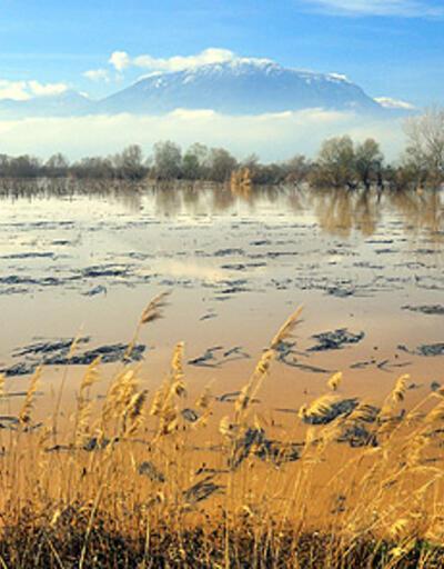 Gediz Ovası göle döndü!