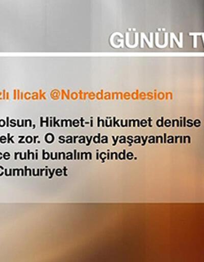 """Nazlı Ilıcak: """"Yaşasın Cumhuriyet"""""""