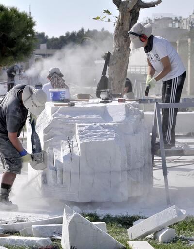 10.Uluslararası Hüseyin Gezer Taş Heykel Sempozyumu