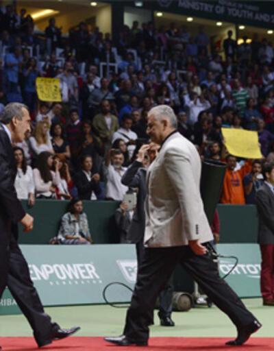 Tenis turnuvasında yuhalama krizi