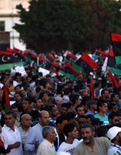 Libya'da ezber bozan protesto