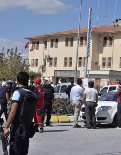 Polis Merkezine canlı bomba saldırısı