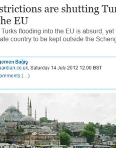 Egemen Bağış'tan Schengen sözü