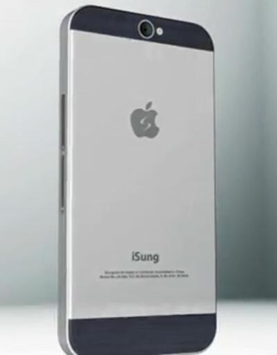 iPhone ile SIII karışımı: The iSung Galaxy V