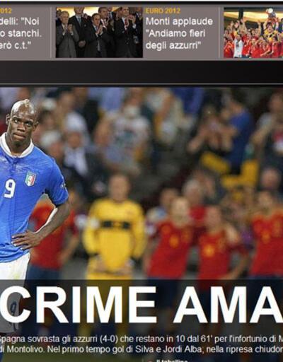 İspanya dünyanın manşetinde