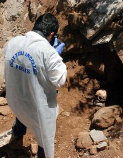 Muş'ta insan kemikleri bulundu