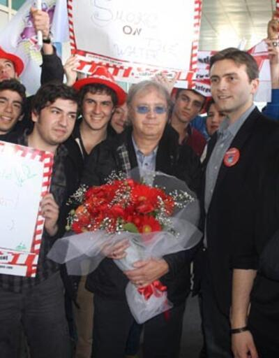 Deep Purple'ın bateristi Ian Paice İstanbul'a geldi