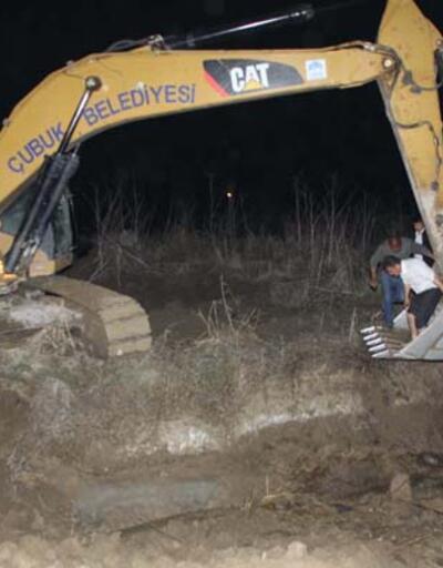 Ankara'da havaalanının yanında kemikler bulundu
