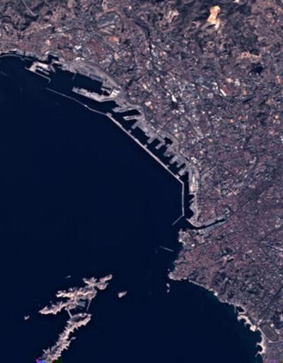 Yerli uydu RASAT'tan ilk fotoğraflar