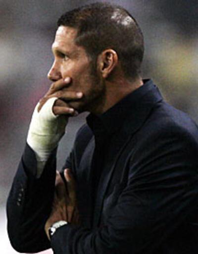 Diego Simeone'ye 8 maç ceza!
