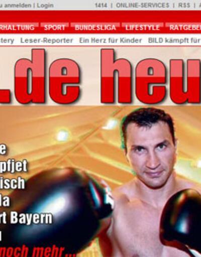 Alman Bild gazetesi üç boyutlu çıktı