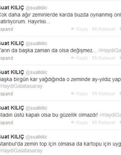 """Bakan Suat Kılıç'ın """"Arena"""" tweet'i"""