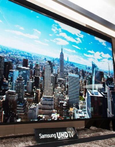 Samsung'dan devasa televizyon!