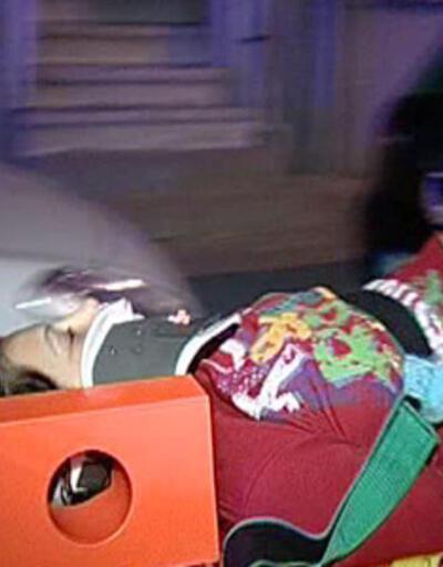 Yangında 3. kattan atladı, battaniye yırtılınca beli kırıldı