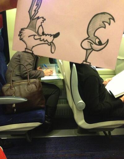 Mickey Mouse kafası