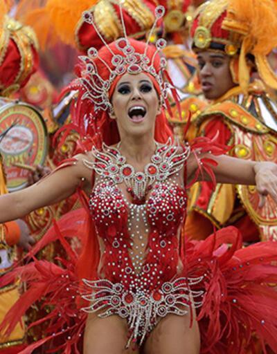 Rio'da karnaval coşkusu