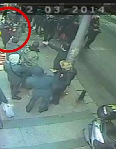 Polis gaz tüfeğini çocuğa verdi