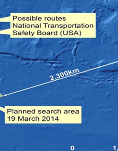 Avustralya, Hint Okyanusu'nda iki parça tespit etti
