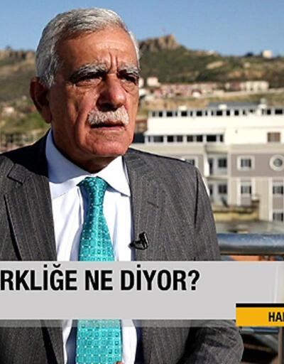 """Ahmet Türk: """"Özerklik olsa derin devlet bu kadar etkili olmaz"""""""