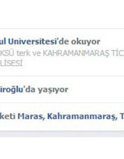 Facebook Kahramanmaraş'ın da adını değiştirdi