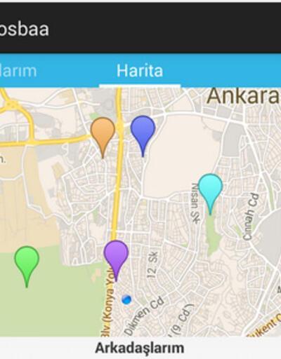 Yerli gerçek zamanlı konum uygulaması Tosbaa Google Play'de