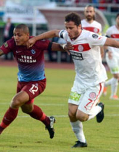 Süper Lig: Medical Park Antalyaspor - Trabzonspor: 0-2