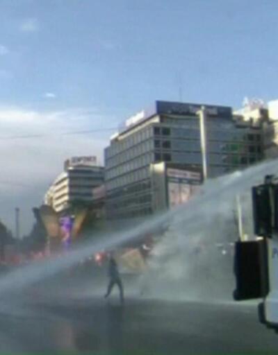 Kızılay'da da polis müdahalesi