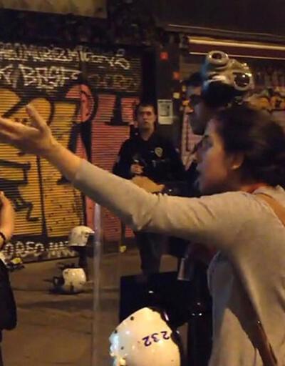 Taksim'den polis diyalogları: Fıkra değil gerçek