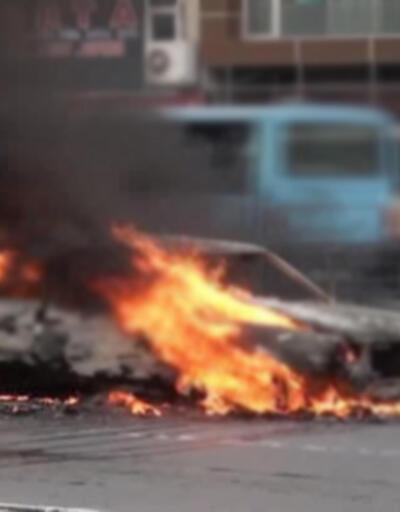 Diyarbakır'da yanan araçta ceset bulundu
