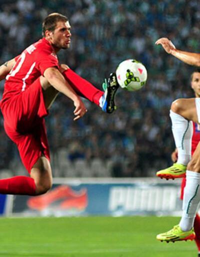 UEFA Avrupa Ligi: Bursaspor - Chikhura Sachkhere 0-0