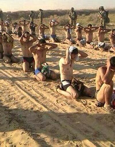 İsrail ordusundan Filistinli tutsaklara kötü muamele ve aşağılama