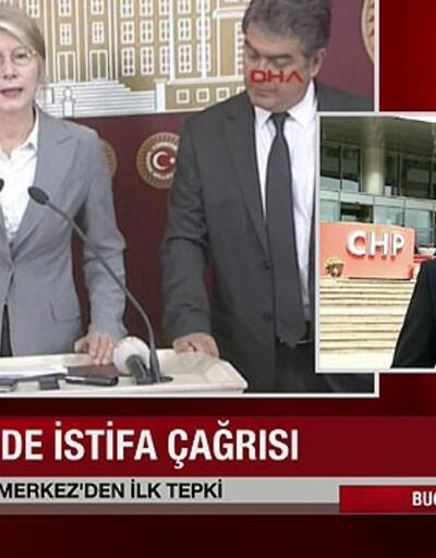 CHP Genel Merkezi'nden Emine Ülker Tarhan'a ilk tepki
