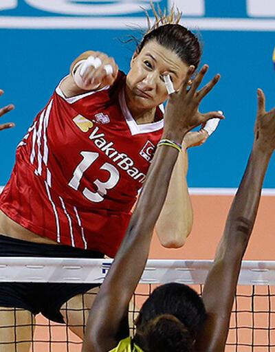FIVB Dünya Grand Prix: Türkiye - Brezilya: 3-2