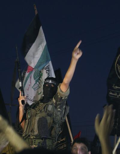 Gazze'de sevinç gösterileri...