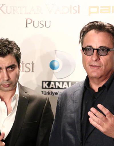 Polat Alemdar ve Andy Garcia basının karşısına çıktı